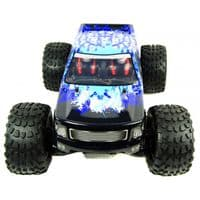 Bug Crusher Electric RC Monster Truck RTR - Blue Ice - BEST DEAL PACKAGE